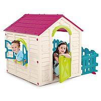 Игровой домик Keter My Garden House Садовый белый/розовый/голубой, фото 1