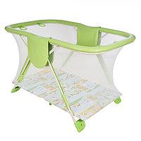 Манеж детский Арена Globex зеленый, фото 1