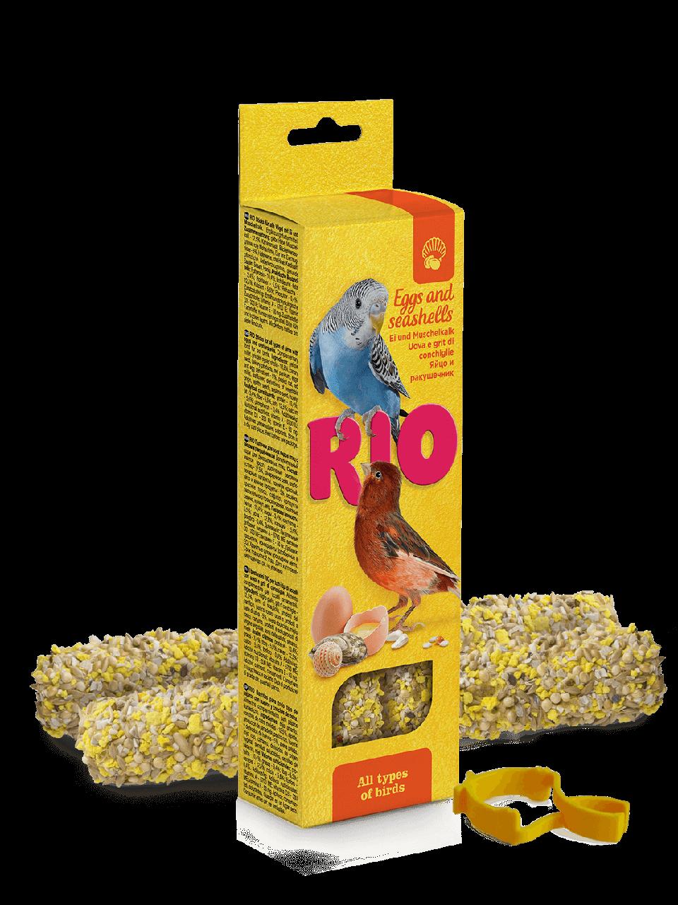 Рио Палочки для всех видов птиц с яйцом и ракушечником