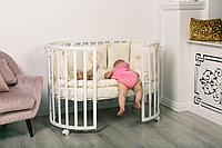 Детская кроватка-трансформер Incanto Amelia 8 в 1 с маятником, фото 1