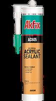 Акриловый герметик AC605 белый 310 мл AKFIX