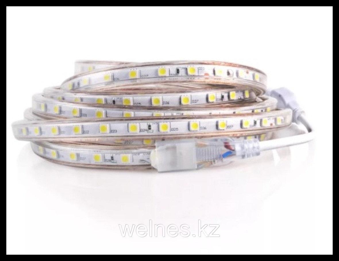 Термостойкая влагозащищенная лента Neo Neon для подсветки в паровой комнате (белый, LED, 12V, IP67)