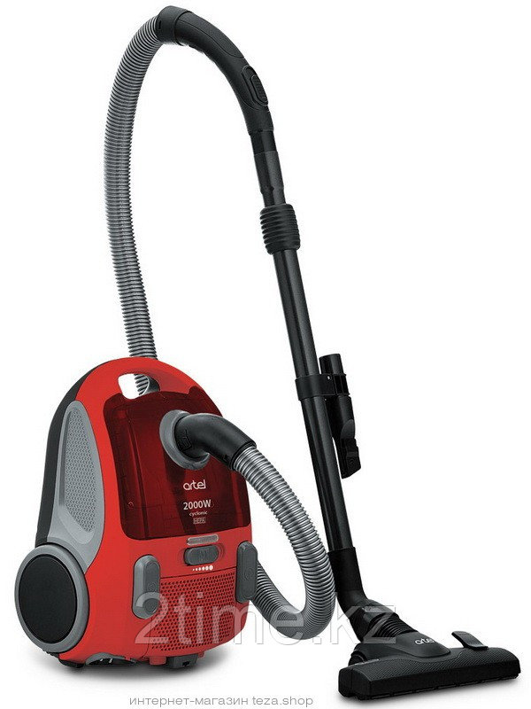 Пылесос Artel VCU 0120, серый, красный, синий