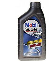 Масло Mobil super 2000   x1   10W40  (1л)  п/с