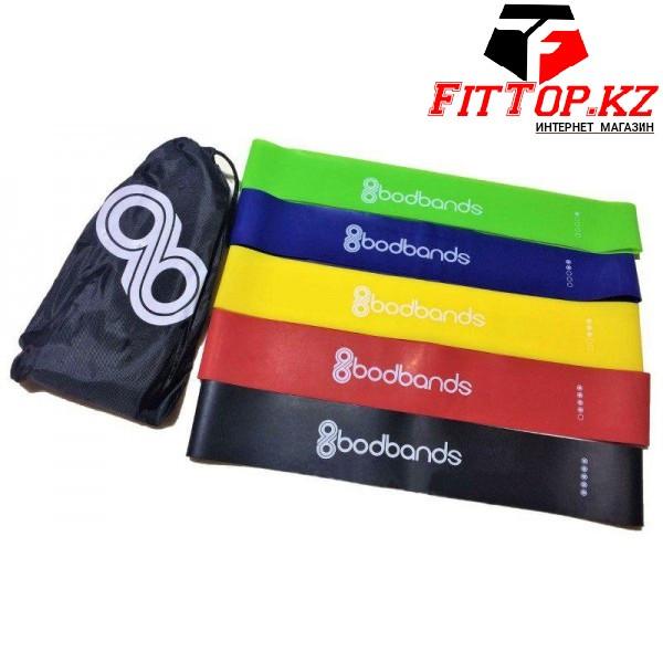 Наборы Ленты-эспандеры, резинки для фитнеса 5 шт - фото 1