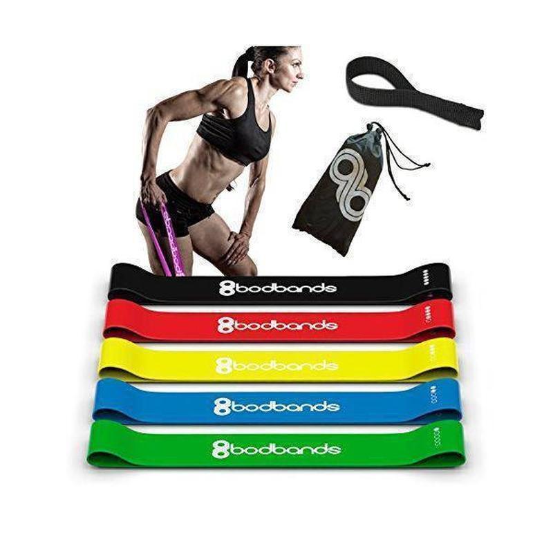 Наборы Ленты-эспандеры, резинки для фитнеса 5 шт - фото 2