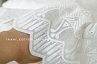 Ткань белое шитье