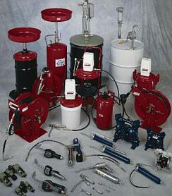 Инструменты для раздачи масел, смазок и технических жидкостей