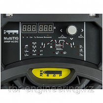 Аппарат аргонодуговой сварки КЕДР, MultiTIG-2000P AC DC, 220В, 5-200А, фото 2
