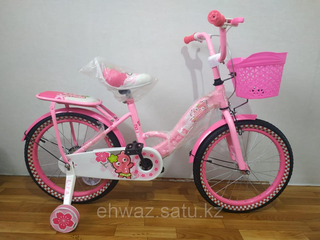 """Детский велосипед для девочек  18"""""""