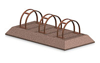 Велопарковка из бетона 3
