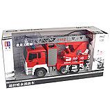 Радиоуправляемая пожарная машина 1/20 с водяной помпой, фото 2