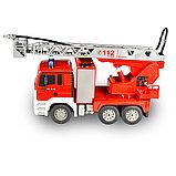 Радиоуправляемая пожарная машина 1/20 с водяной помпой, фото 4