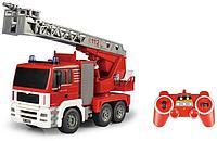 Радиоуправляемая пожарная машина 1/20 с водяной помпой, фото 1