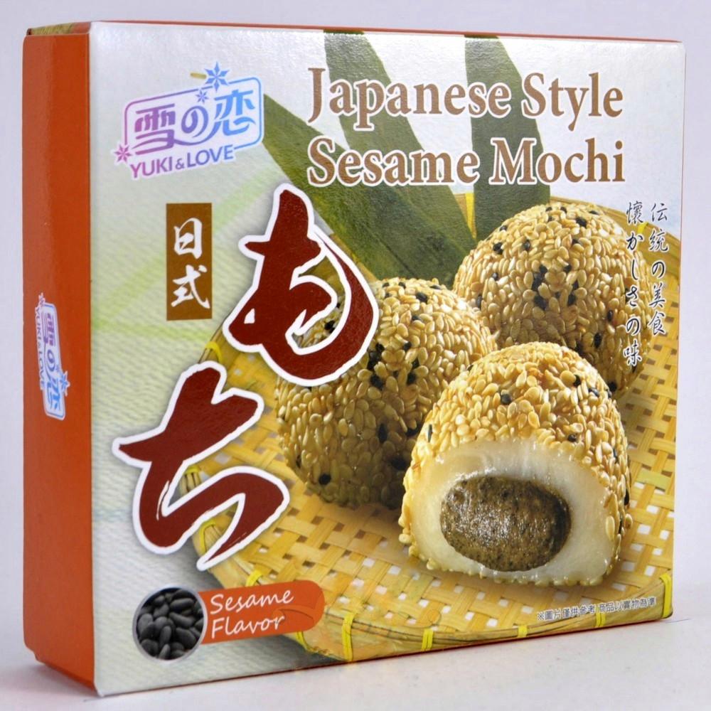 Daifuku Yuki & Love Japanese Style Sesame Mochi  с кунжутом