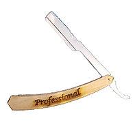 Professional (опасная бритва - шаветта) с безопасными углами удобна для начинающих