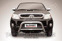 Кенгурятник d76 низкий картера Toyota Hilux 2005-11