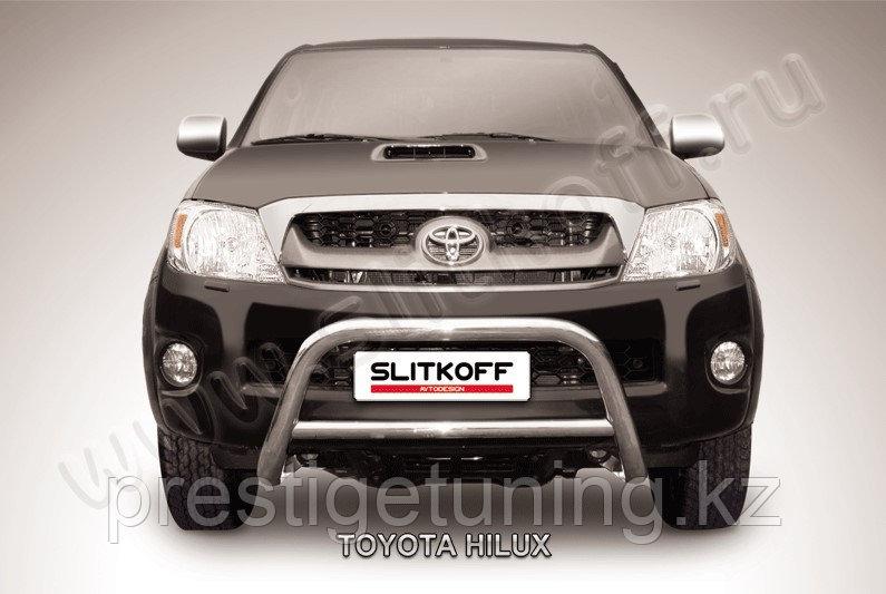 Кенгурятник d57 низкий Toyota Hilux 2005-11