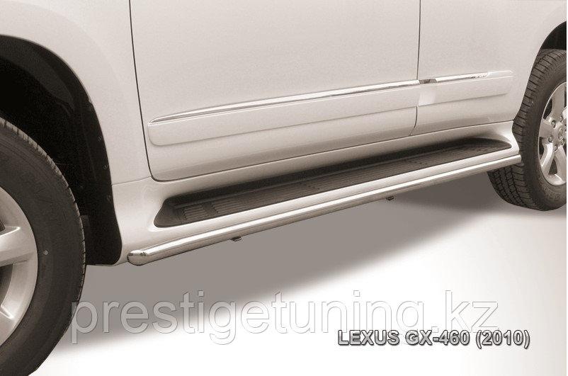 Защита штатного порога d42 Lexus GX460 2010-13