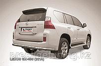 Защита заднего бампера d76 Lexus GX460 2010-13