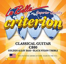 Струны для классической гитары LA BELLA Medium Light С800
