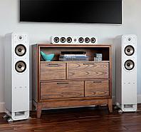 Комплект для домашнего кинотеатра 5.1 на акустике Polk Audio SIGNATURE E белый