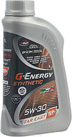 G-Energy Synthetic Far East 5W-30 синтетическое моторное масло для японских автомобилей 1л, фото 1