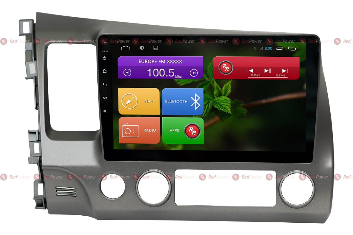 Автомагнитола для Honda Civic Redpower 31024 R IPS DSP ANDROID 7