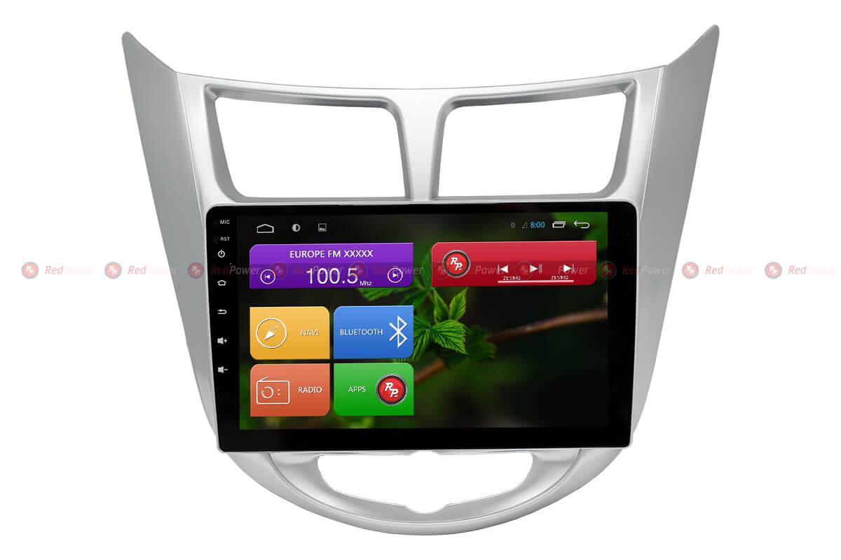 Автомагнитола для Hyundai Solaris Redpower 31067 R IPS DSP ANDROID 7