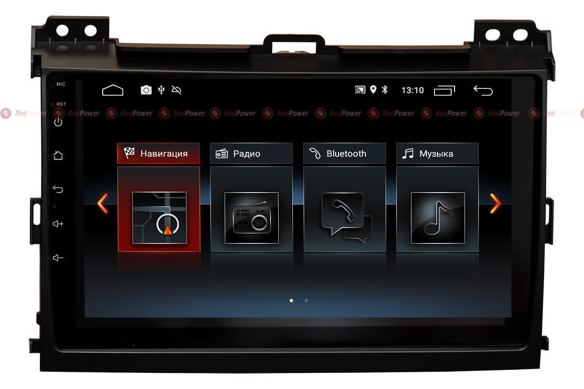 Автомагнитола для Lexus GX470 RedPower 30182 IPS ANDROID 8