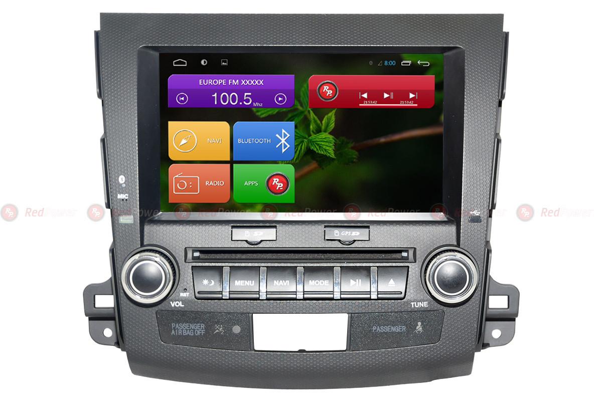 Автомагнитола для RedPower 31056 IPS DSP Mitsubishi, Citroen, Peugeot