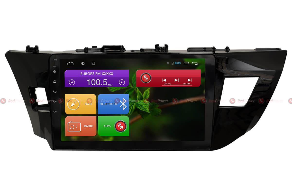 Автомагнитола для Toyota Corolla 2013-2016 Redpower 31066 R IPS DSP ANDROID 7