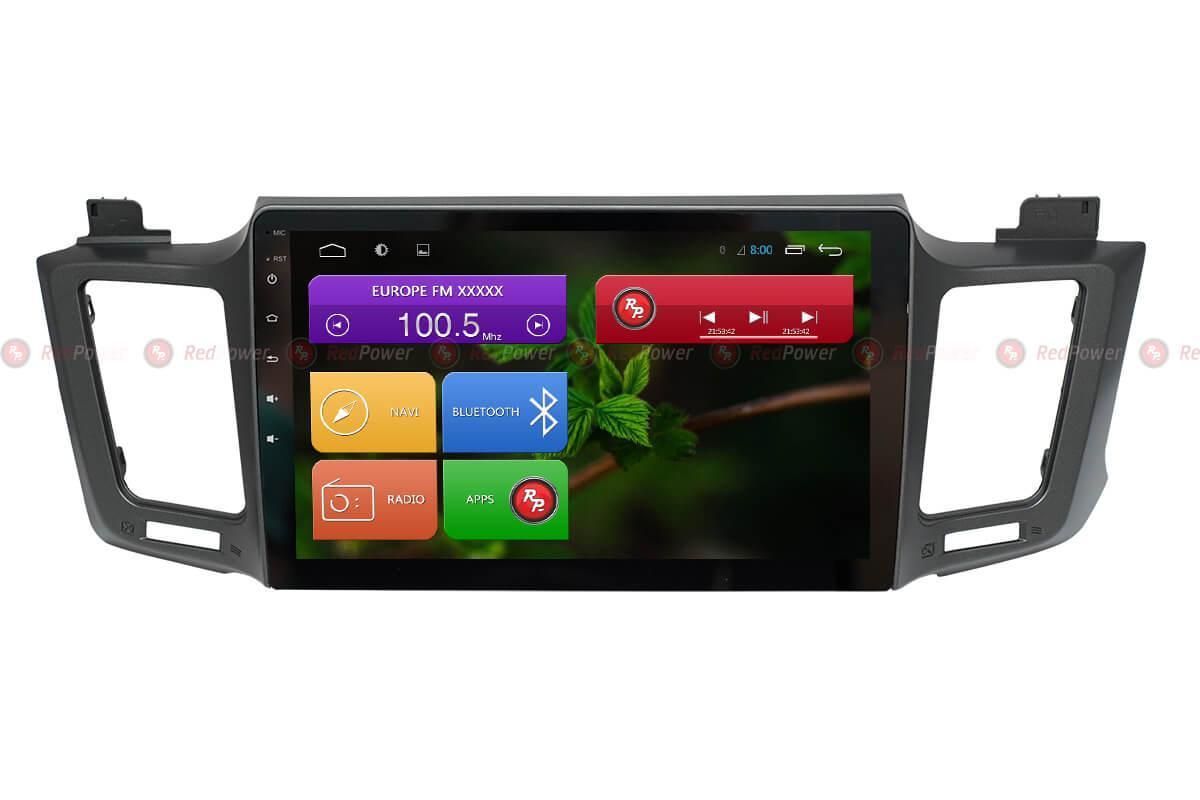 Автомагнитола для Toyota RAV4 2012+ Redpower 31017 R IPS DSP ANDROID 7