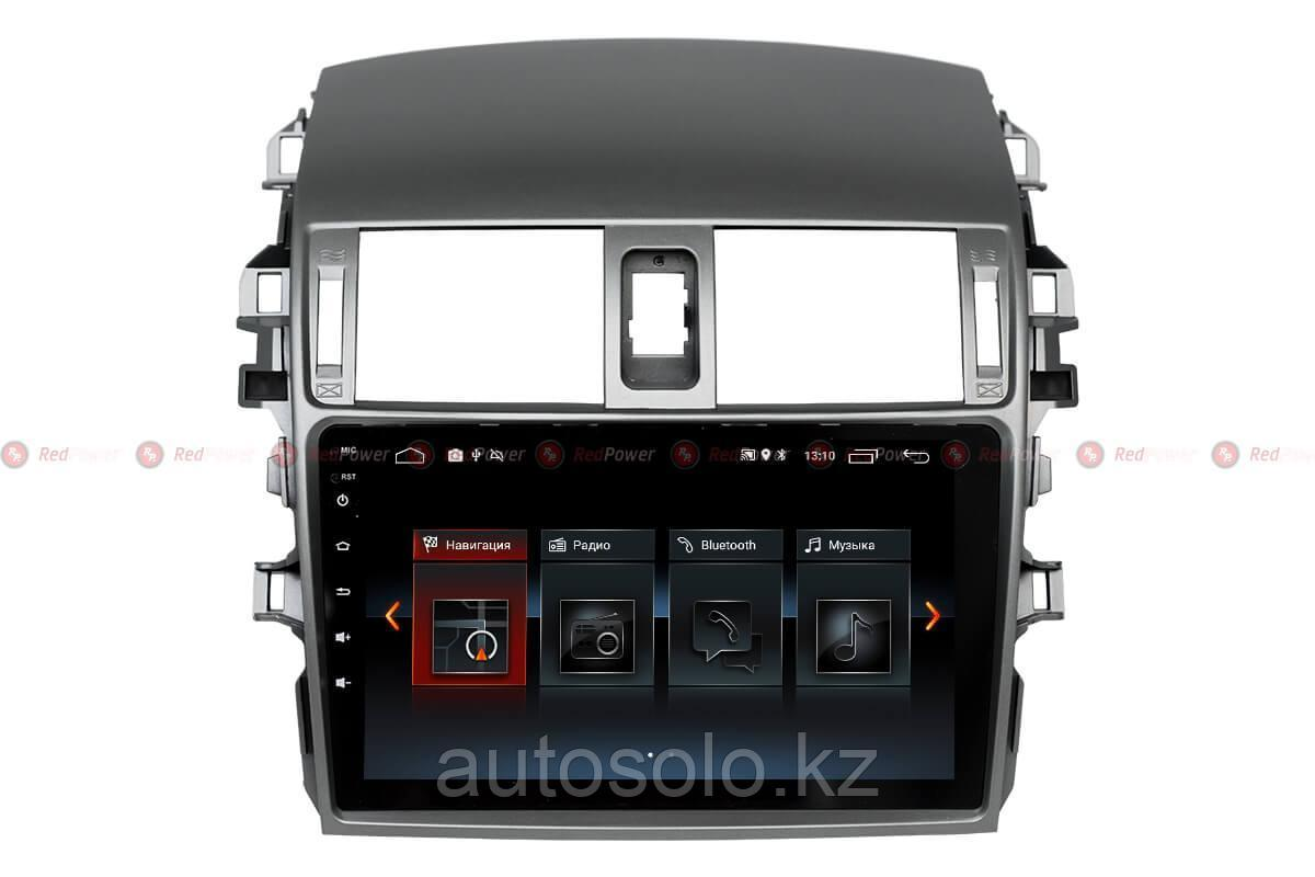 Автомагнитола для Toyota Corolla Redpower 30063 IPS ANDROID 8
