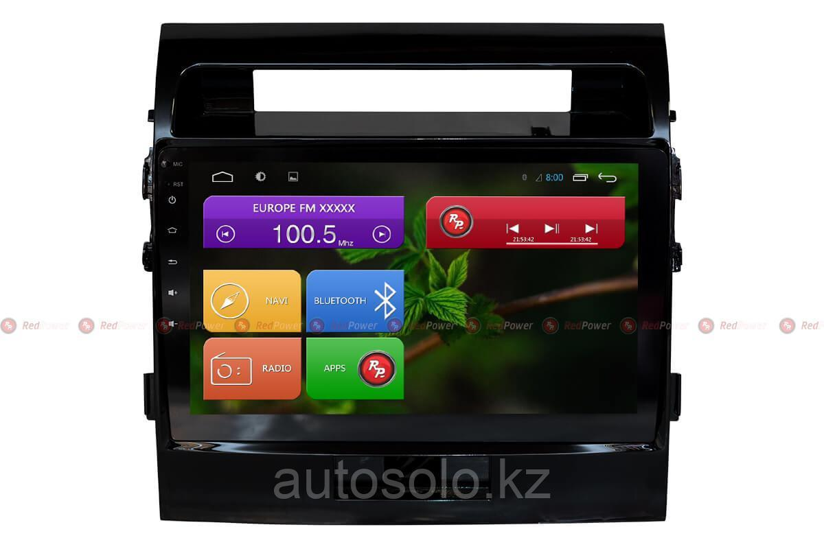 Автомагнитола для Toyota Land Cruiser 200 Redpower 31200 R IPS DSP ANDROID 7