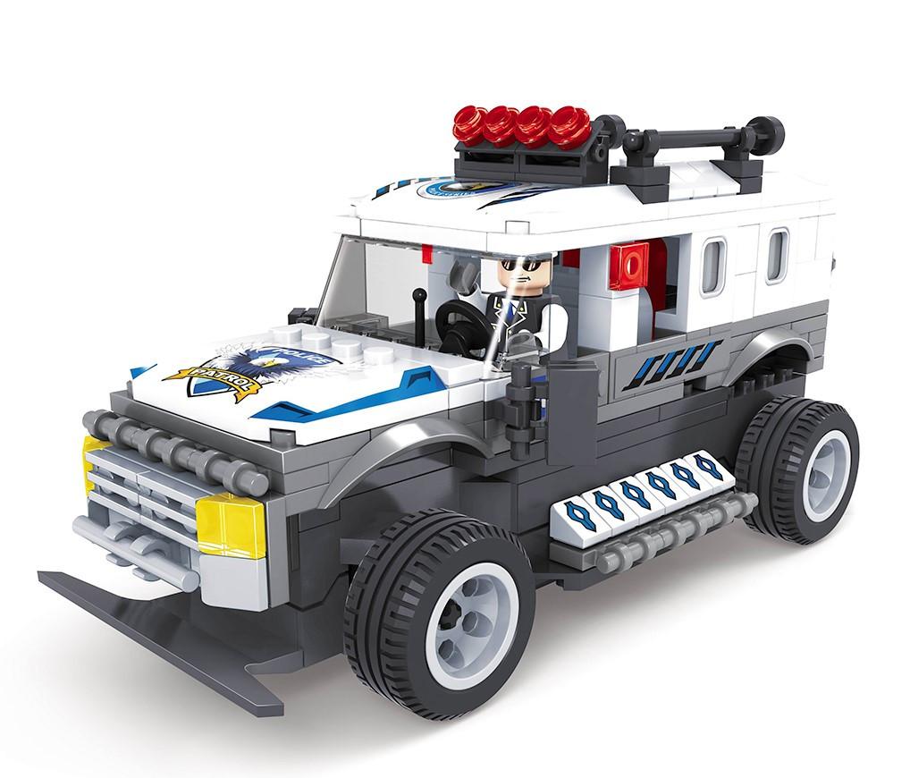 Игровой конструктор Ausini 20203 (Полицейский внедорожник на пульте управления, 283 детали)