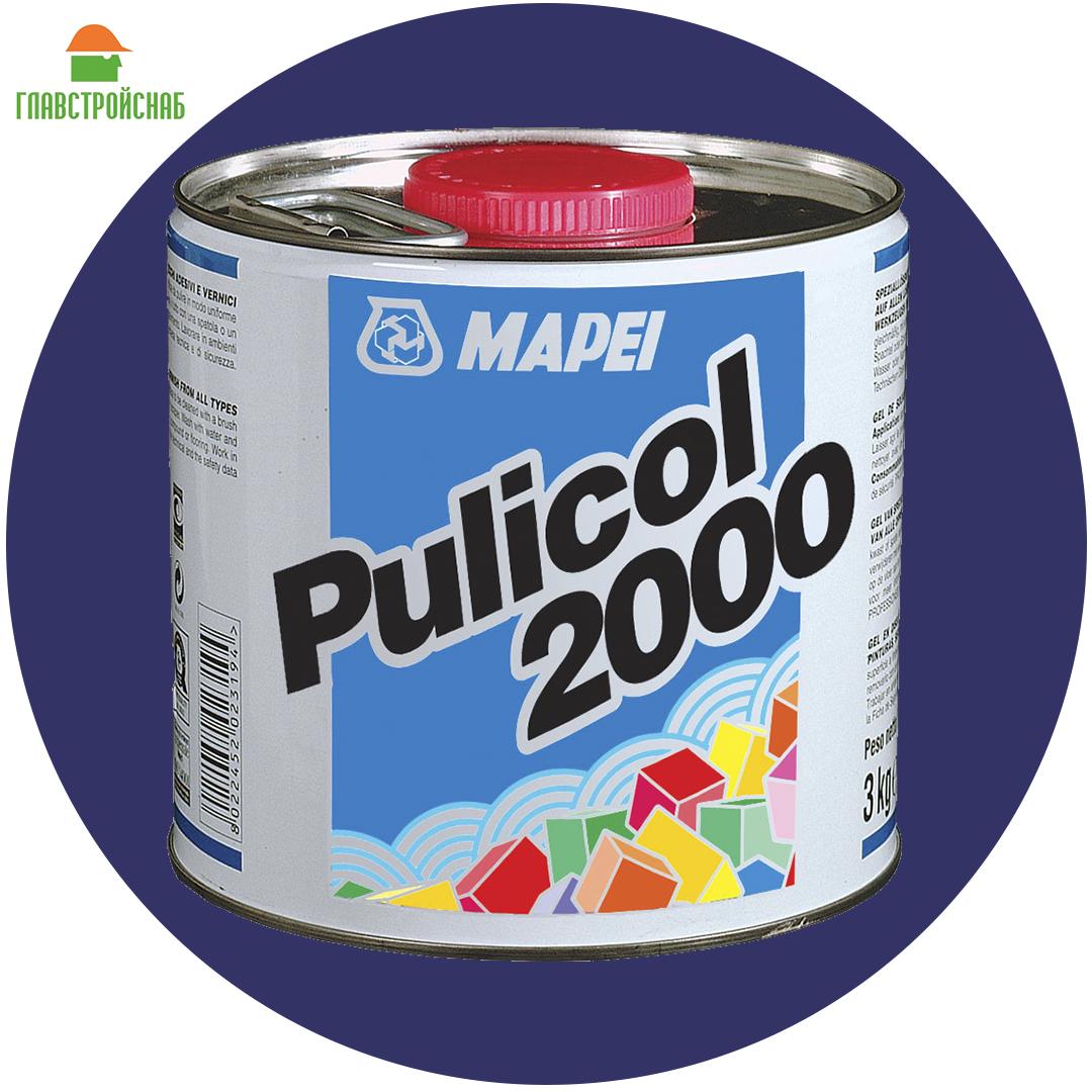 PULICOL 2000 (Пуликол) Гель для смывки старой краски и клея, 075 кг.