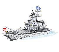 Игровой конструктор Ausini 22110 (Большой ракетный крейсер, 1276 детали)