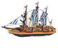 """Игровой конструктор Ausini 27806 (Парусный фрегат """"Рыба-меч"""", 857 деталей)"""