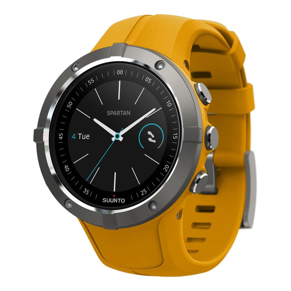 Suunto  часы Spartan Trainer Wrist HR Amber
