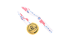 Медаль ЖХЛ за 1-ое место (с лентой)