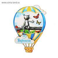 Магнит в форме воздушного шара «Воронеж»