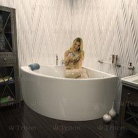 Ванна Тритон Синди ЭКСТРА (1250х1250) в комплекте с каркасом