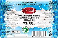 Масло сладко сливочное несоленое крестьянское 72,5% 500 гр.