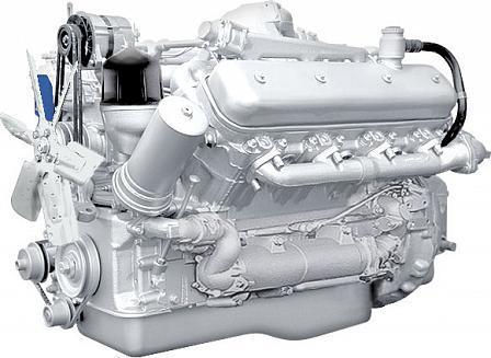 ЯМЗ-238НД4 V-образный 8-цилиндровый дизельный двигатель для МАЗ, КрАЗ