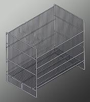Контейнер сетчатый усиленный (960х600х850 мм) крашенный арт. KS1, фото 1