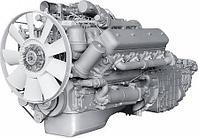 ЯМЗ-6582.10 V-образный 8-цилиндровый дизельный двигатель, фото 1