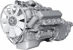 ЯМЗ-6582.10 V-образный 8-цилиндровый дизельный двигатель