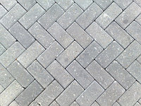 Брусчатка Кирпич/Прямоугольник, толщина 70 мм