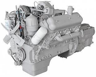 ЯМЗ-236М2 V-образный 6-цилиндровый дизельный двигатель